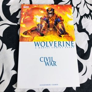 5 for $25| Civil War Wolverine TPB